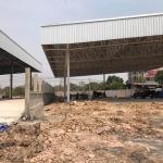ต่อเติมโครงสร้างหลังคา กันสาดหน้าบ้าน - ช่างติดตั้งรางน้ำฝน สระบุรี