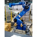หุ่นยนต์จัดเรียงสินค้าบนพาเลท - บริษัท ไอ.เอ็ม.อี. รีโวลูชั่น จำกัด