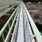 ติดตั้งรางน้ำอาคารโรงงาน - รางน้ำฝนสแตนเลส มงคลการช่าง