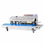 เครื่องซีลสายพานมีพิมพ์วันที่แนวนอน รุ่น FRBM810W - บริษัท เค.เอ็น.แพ็คกิ้ง จำกัด