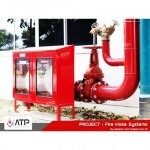 ระบบท่อยืนสายฉีดน้ำดับเพลิง  - ออกแบบ ติดตั้งระบบดับเพลิง แอดวานซ์ เทค โพรดักท์