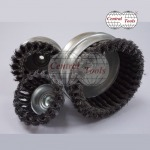 แปรงรูปถ้วย - ถักเปีย (Twist Knot Cup Brush) - โรงงานผลิตแปรงอุตสาหกรรม  เซ็นทรัล ทูลส์ (ประเทศไทย)