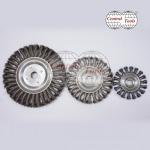 แปรงล้อถักเปีย (Twist Knot Wheel Brush) - โรงงานผลิตแปรงอุตสาหกรรม  เซ็นทรัล ทูลส์ (ประเทศไทย)