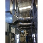 Installed factory pipe. - K P & J Engineering LP