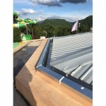 Install rain gutter. - K P & J Engineering LP