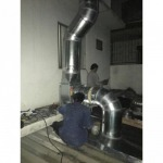 Installation of air ducts. - K P & J Engineering Part., Ltd.