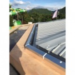 Install rain gutter. - K P & J Engineering Part., Ltd.