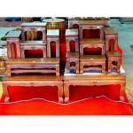 จำหน่ายโต๊ะหมู่บูชา - ร้าน ลายไทย ไม้สักทอง