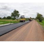 รับปูถนนลาดยางแอสฟัลท์ติกคอนกรีต - บริษัท กาญจนาธุรกิจก่อสร้าง จำกัด