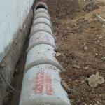 งานวางท่อระบายน้ำ - วันชัยรวมช่าง 2518 รับเหมาเทพื้นถนน
