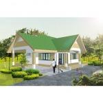 BD - 1001 บ้านชั้นเดียว - รับสร้างบ้านช่างดี