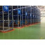 งานพื้น Polyurethane Food Grade - บารมี คัลเลอร์ เฟล็กซ์ (Barame Color Flake)