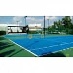 พื้นสนามกีฬามาตรฐาน สนามเทนนิส ITF, สนามบาสเกตบอล, สนามแบตมินตัน Portable - บารมี คัลเลอร์ เฟล็กซ์ (Barame Color Flake)