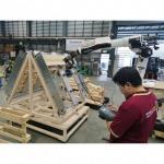 หุ่นยนต์ผลิตพาเลทไม้ อัตโนมัติ - บริษัท วัฒนา แมชชีนเทค จำกัด
