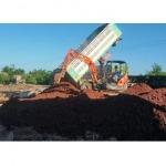 รับส่งหิน ดิน ทราย - ให้เช่าแมคโคร-ณัฐสิทธิ์ บริการ