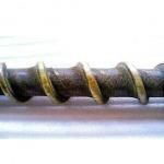 งานพ่นพอกสันเกลียว ด้วยทังสเตนคาร์ไบด์ ก่อนซ่อม - บริษัท บี ไบเมทัลลิค จำกัด
