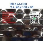 ตะแกรงอลูมิเนียมฉีก FO-3 AL1100 - สตีลเมทัล ตะแกรงเหล็ก