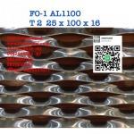 ตะแกรงอลูมิเนียมฉีก FO-1 AL1100 - สตีลเมทัล ตะแกรงเหล็ก