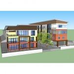 รับเหมาก่อสร้างบ้านโครงการภิรมย์อพาร์เม้นท์ - บริษัท อาร์ค11 ดีไซน์ จำกัด