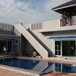 สระว่ายน้ำบ้านคนรวย  เชียงใหม่ - พูล แอนด์ ดีไซด์ - รับสร้างสระว่ายน้ำ เชียงใหม่