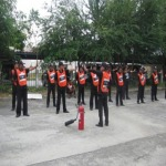 ฝึกอบรมพนักงาน รปภ - พี แอนด์ เจ การ์ด-รปภ อมตะ ชลบุรี