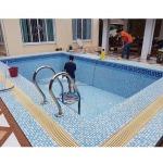 สร้างสระว่ายน้ำ - บริษัท ๑ ทองคำ อินเตอร์เนชั่นแนล จำกัด