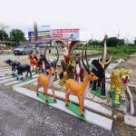 งานรูปปั้น - สมปอง ศาลพระภูมิ ระยอง