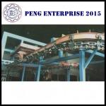 ระบบโซ่ลำเลียง (Chain Conveyor) - ระบบลำเลียง และห้องพ่นสี - เผิง เอ็นเตอร์ไพร์ส (2015)