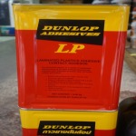 Dunlop rubber glue, red piping, wholesale price - Vana Suwan Timber Part., Ltd.