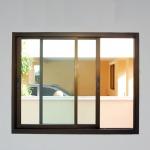 ออกแบบประตูหน้าต่าง - อลูมิเนียม นวศีล