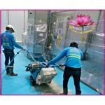 งานตัดคอนกรีตร่องรางน้ำ - บริษัท เจชิน เอ็นจิเนียริ่ง จำกัด