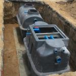 งานออกแบบและติดตั้งถังบำบัดในระบบบำบัดน้ำเสีย - บริษัท เอทีพี อินโนเวชั่นส์ จำกัด