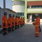 ฝึกอบรถดับเพลิง ฉะเชิงเทรา - บริษัท รักษาความปลอดภัย จี เอส จำกัด