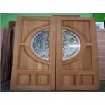 ประตูไม้สักฉลุลวดลาย - โรงงานแปรรูปไม้ ง้วนเฮงล้ง