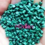 เม็ดพลาสติกรีไซเคิล HDPE เขียว - โรงงานผลิตเม็ดพลาสติกรีไซเคิล แสงรุ่งเรืองพลาสติก สมุทรปราการ