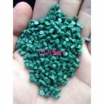 เม็ดพลาสติกรีไซเคิล HDPE เขียว - โรงงานผลิดเม็ดพลาสติกรีไซเคิล แสงรุ่งเรืองพลาสติก สมุทรปราการ