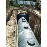 Installing the Phuket Waste Water Treatment Tank - Solid Intertech Co., Ltd. (Phuket Branch)