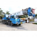 50 ton 12 wheel crane for rent - Bangkok Crane and Service Company Limited