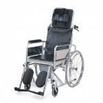 รถเข็นนั่งถ่าย แบบปรับเอน - บริษัท พิสิษฐ์การแพทย์ จำกัด - รับผลิตเตียงผู้ป่วย