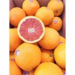 Orange - selling fruits, imported to the Thai market