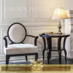 เก้าอี้พร้อมโต๊ะข้าง - เฟอร์นิเจอร์โมเดิร์นคลาสสิค - สชา คอร์ปอเรชั่น