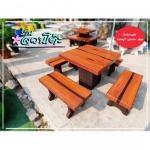 โต๊ะหินลายไม้ราคาถูก - ร้านสวนโต๊ะหินอ่อน นนทบุรี