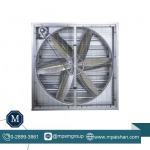 พัดลมอุตสาหกรรม รุ่นกล่อง บานเกล็ด - พัดลมระบายอากาศโรงงาน