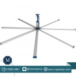 พัดลมยักษ์ HVLS - พัดลมระบายอากาศโรงงาน