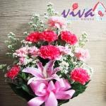 รับจัดแจกันดอกไม้สดราคาถูก - ร้านสุจิตรา ฟลาวเวอร์ ปากคลองตลาด