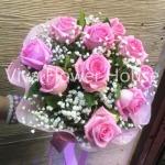 รับจัดช่อดอกไม้กุหลาบ - ร้านสุจิตรา ฟลาวเวอร์ ปากคลองตลาด