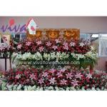 รับจัดดอกไม้ประดับหีบศพ - ร้านสุจิตรา ฟลาวเวอร์ ปากคลองตลาด