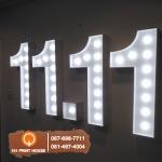 ป้ายไฟปิงปอง - บริษัท 101 พริ้นท์ เฮาส์ จำกัด