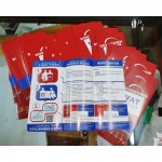 Get a brochure. - Print shop to order vinyl stickers, Watcharaporn, Ramintra Road