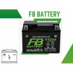 จำหน่ายแบตเตอรี่รถมอเตอร์ไซค์ FB Battery - ทีเอ แบตเตอรี่ อุดรธานี